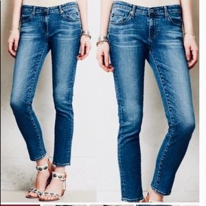 AG The Stevie Slim Straight Jeans
